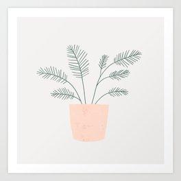 little fern Art Print