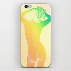 Rainbow Nude Vintage Photo iPhone & iPod Skin