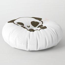 Cute panda Floor Pillow