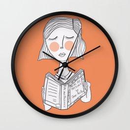 Reading Jane Austen is always a good idea. Wall Clock