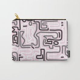 Tokyo Mon Amour - Pink Winter Carry-All Pouch