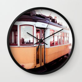 The 25 in Lisbon Wall Clock