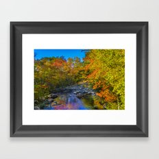 September Morning Framed Art Print