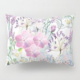 Spring Flowers Bouquet Pillow Sham