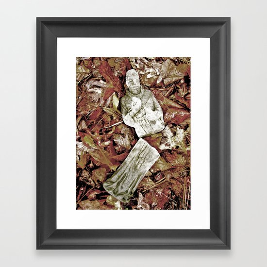The Fall of Faith Framed Art Print