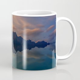 Fantasy mountain reflection Coffee Mug
