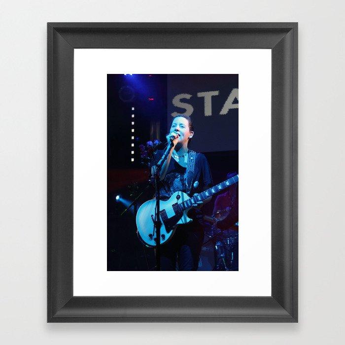 Amy Millan, Stars, In Concert Framed Art Print