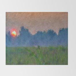 Morning Meadow Throw Blanket