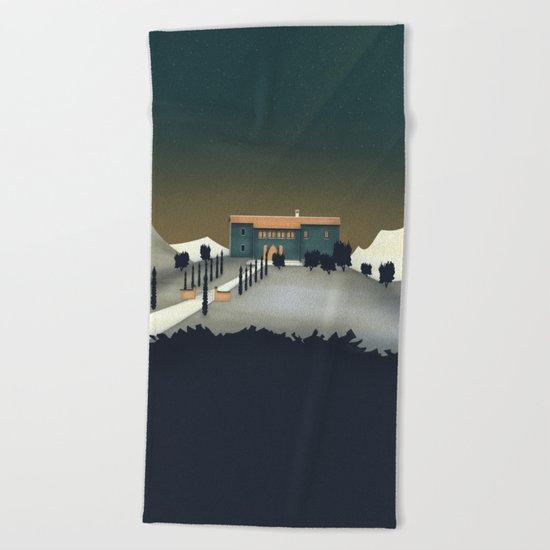 Secret Castle Beach Towel