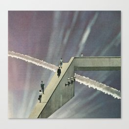 Skyway Canvas Print