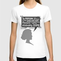 jane austen T-shirts featuring [Jane Austen] Book Lover by samarasketch