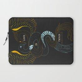 Love in Twain - William Shakespeare - Turtle and Phoenix Laptop Sleeve