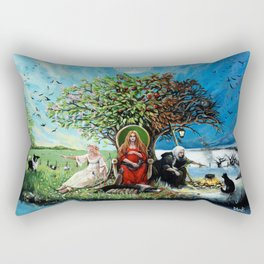 The Maiden, The Mother, and The Crone Rectangular Pillow