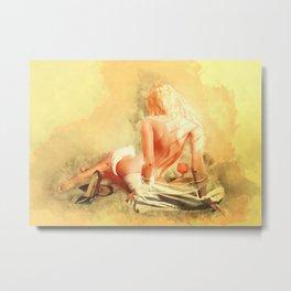 Beautiful Secret - Reflections Metal Print