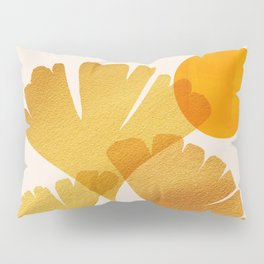 Abstraction_SUN_Ginkgo_Minimalism_001 Pillow Sham