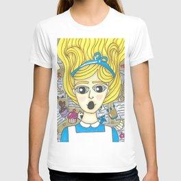 Alice down the Rabbit Hole T-shirt