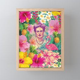 Frida Jungle Framed Mini Art Print