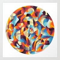 Color Power Art Print