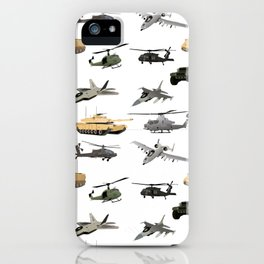 American Military Pattern iPhone Case