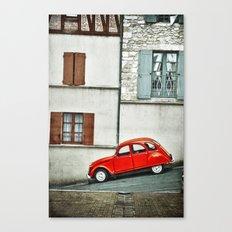 Vieux style Canvas Print