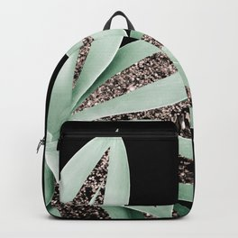 Agave Finesse Glitter Glam #2 #tropical #decor #art #society6 Backpack