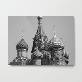 St Basil's Cathedral  Metal Print