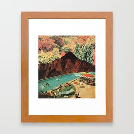 HAPPY PLACE Framed Art Print