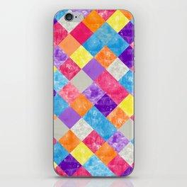 Lovely Geometric Background V iPhone Skin