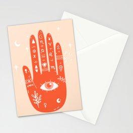 Palmistry 4 Stationery Cards