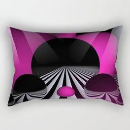3D - abstraction -114- Rectangular Pillow