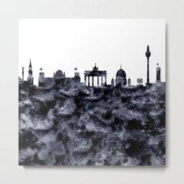 Berlin Skyline Germany Metal Print
