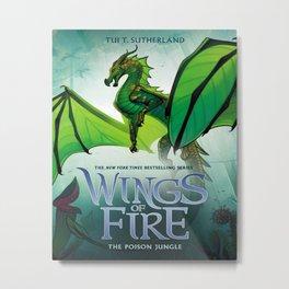 Jungle - Wings of Fire Metal Print