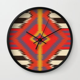 American Native Pattern No. 87 Wall Clock