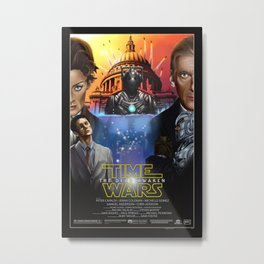 Doctor Who - Time Wars: The Dead Awaken Metal Print