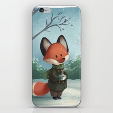 Fox in Winter iPhone & iPod Skin