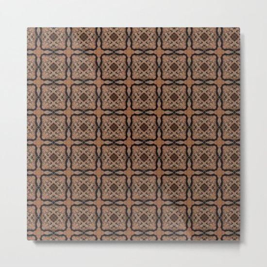 De-squared Metal Print