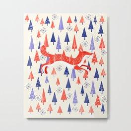 Holiday Mood Metal Print