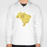 brazil Hoodies featuring Brazil by Ursula Rodgers