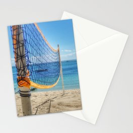 Beach Volley Mauritius Stationery Cards