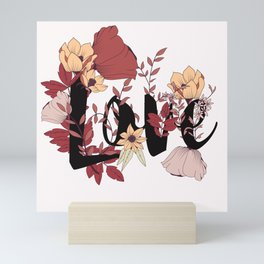 Type Love 006 Mini Art Print
