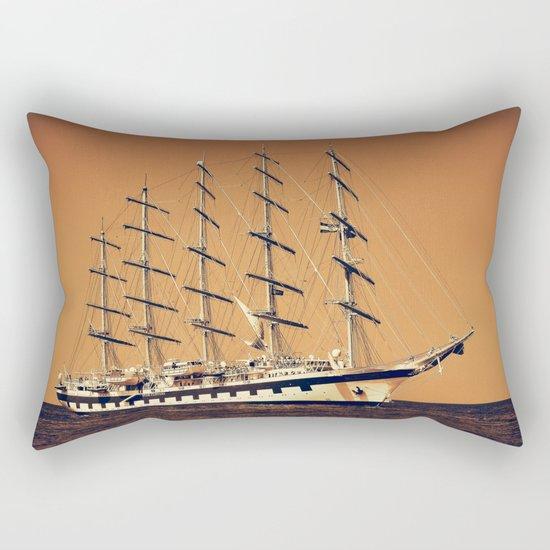 Old Ship Rectangular Pillow