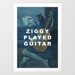 The Old Ziggy Art Print
