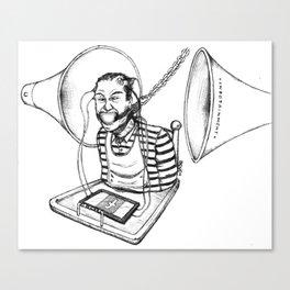 Infocratie Canvas Print