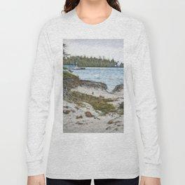 Presque Isle Dunes Long Sleeve T-shirt