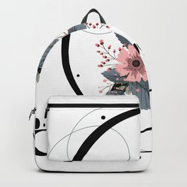 Letter D of the alphabet Backpack