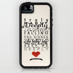 One Direction: Truly Madly Deeply Adventure Case iPhone (5, 5s)