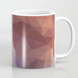 """""""Berry-chocolate smoothie"""" triangles design Coffee Mug"""