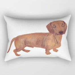 Dachshund Sausage dog Rectangular Pillow