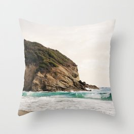 Strands Beach, Dana Point Throw Pillow
