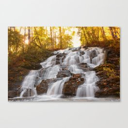 Falls On Wolf Creek, GA Canvas Print